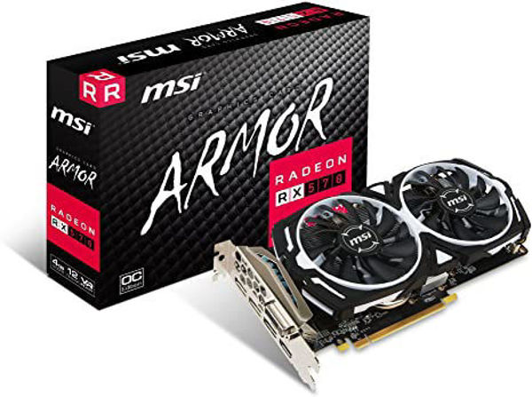 Picture of VGA Radeon RX  570, 4GB DDR5
