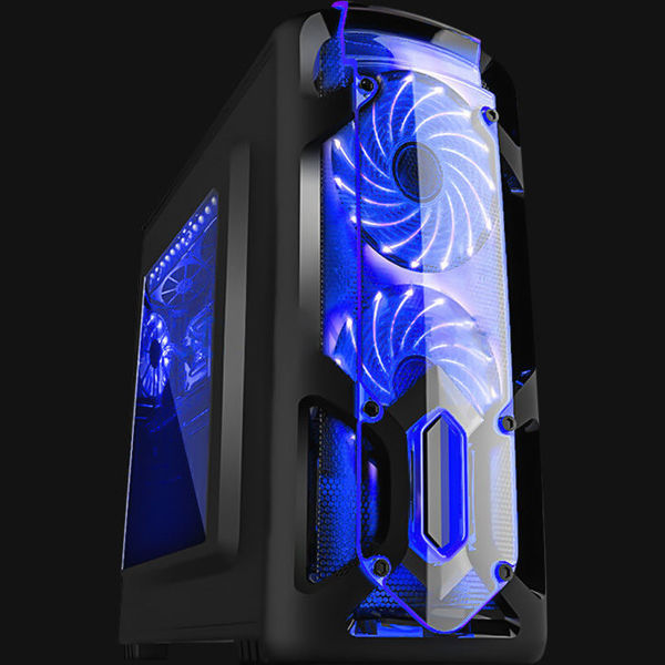 Picture of MARVO CA-113 GAMING CASE