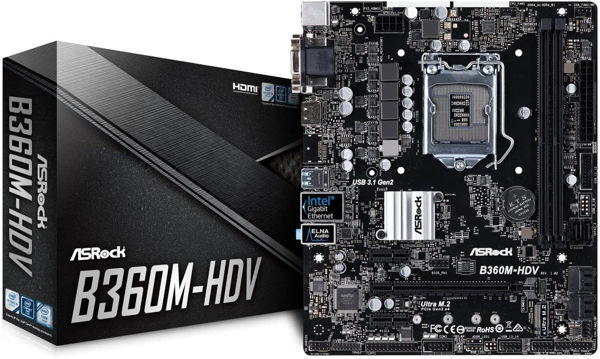 Picture of ASRock B360M-HDV