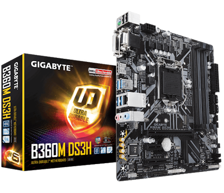 Picture of GIGABYTE B360M DS3H