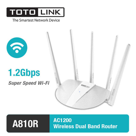 Picture of TOTOLINK AC1200 A810R  Router