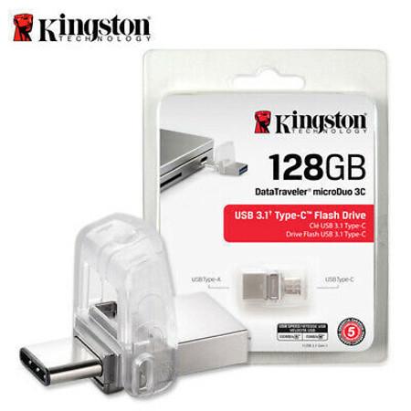 Picture of OTG USB / MICRO USB FLASH MEMORY KINGSTON 128GB