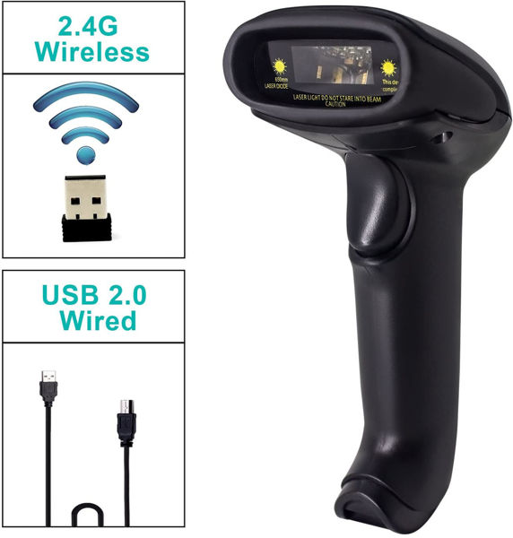 Picture of Wireless barcode reader