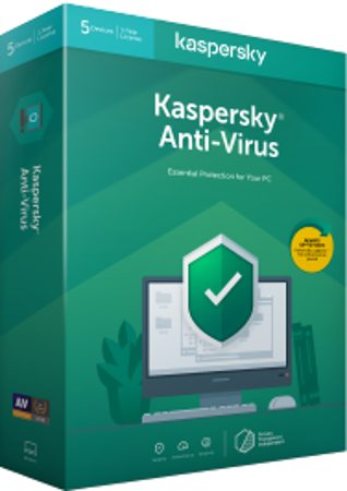 Picture of Kaspersky Antivirus 2019 (2 Devices)