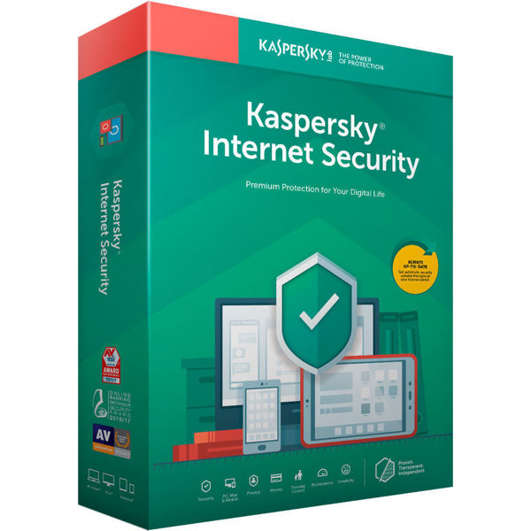 Picture of Kaspersky Internet Security 2019 (2 Devices)