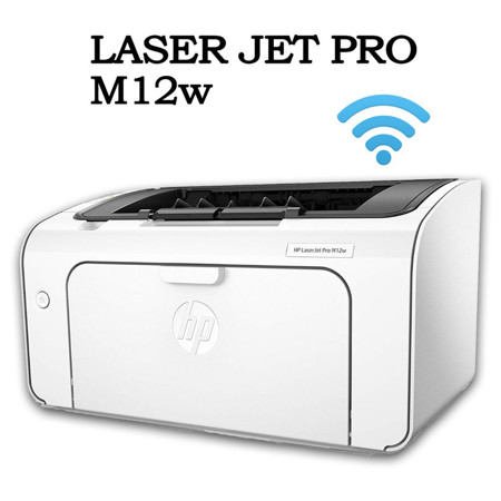 Picture of HP M12W  PRO LASER PRINTER (BLACk) WITH WIFI