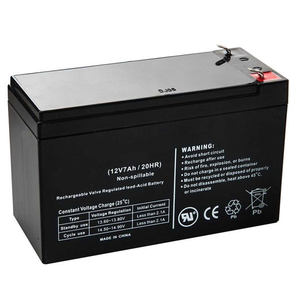Picture of Battery for UPS 12V 7A