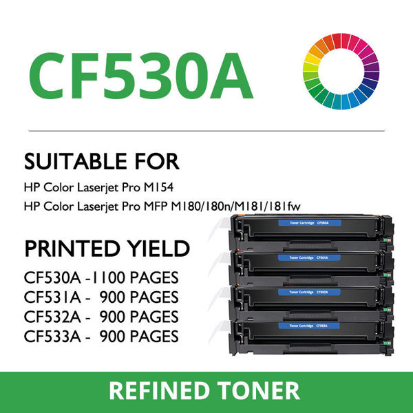 Picture of Compatible HP CF530A /531A/532A/533A (205A)
