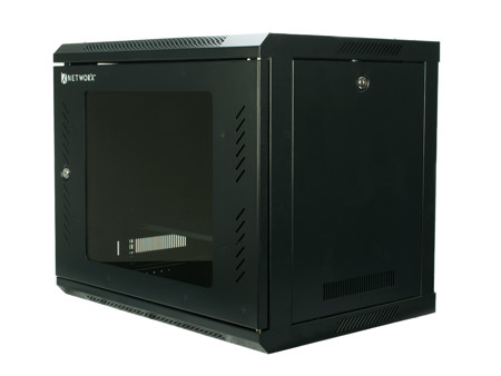 Picture of 12U Wall Mounted Front Glass - Rear Metal W600*D450 Cabinet
