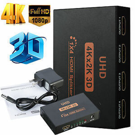 Picture of HDMI SPLITTER 4 ports 4K
