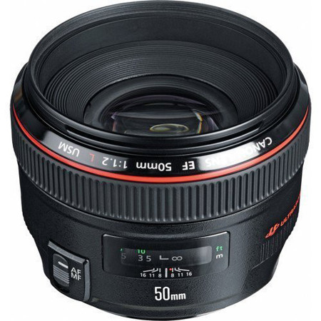 Picture of Canon EF 50mm f/1.2L USM Lens