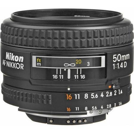 Picture of Nikon AF NIKKOR 50mm f/1.4D Lens