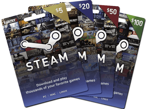 Picture of Steam Gift Card