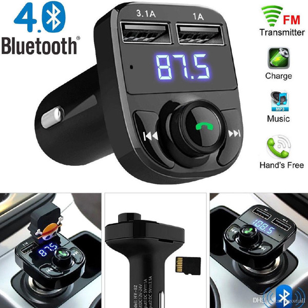 Picture of Car-X8 Wireless Car FM Player