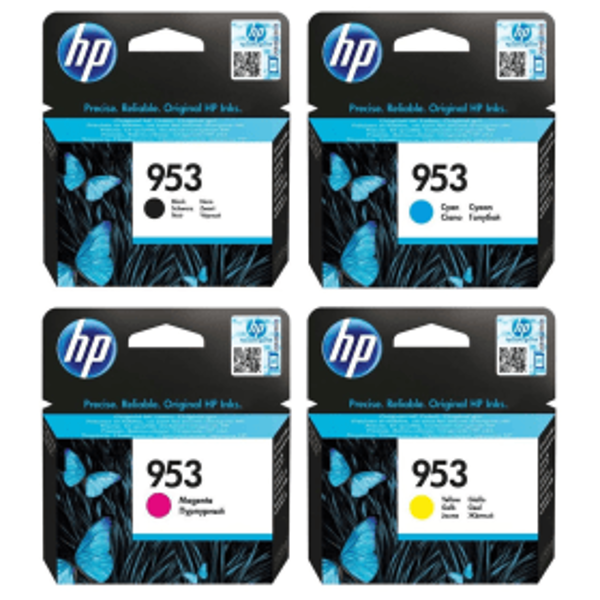 Picture of Compatible INK 953 BLACK & COLOR