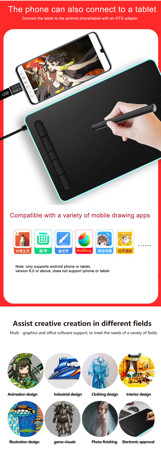 Picture of WP9620  graphic tablet