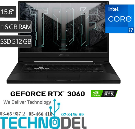 Picture of ASUS TUF FX516PM 11th RTX3060